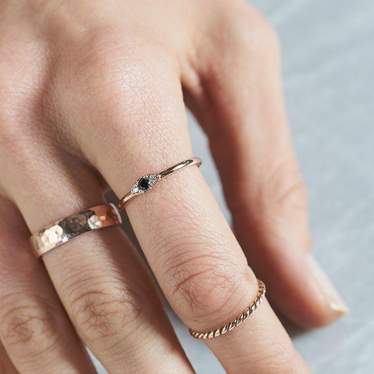 Dear Rae | Fancy Pants Diamond Ring Collection  #DearRae #DearRaeJewellery #DiamondRings #ColourDiamonds #EngagementRings #BlackDiamond