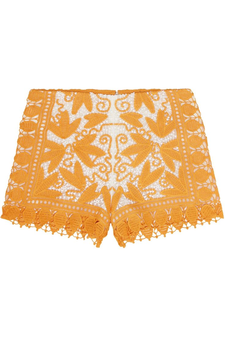 Shop on-sale Tory Burch Crocheted shorts. Browse other discount designer Shorts & more on The Most Fashionable Fashion Outlet, THE OUTNET.COM