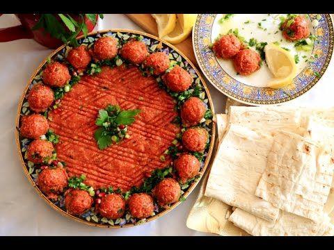 Chi Kofte Qofta Kofta Easy Recipe - Armenian Cuisine - Heghineh Cooking Show - YouTube