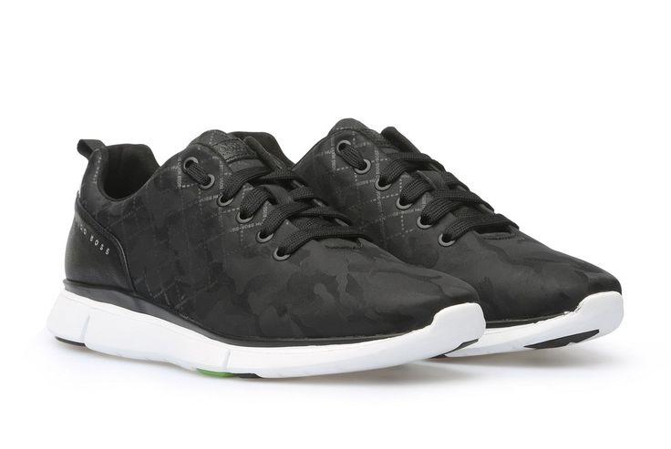 Zapatos Hugo Boss Negro - Gym Runn  Envio gratis