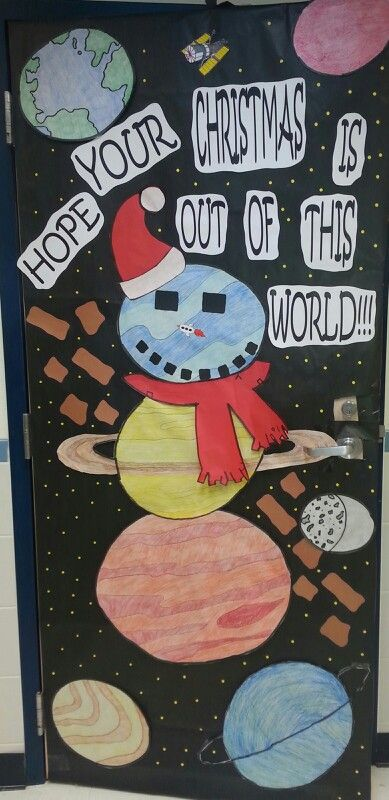 Cool Science Classroom Decorations ~ The best christmas classroom door ideas on pinterest