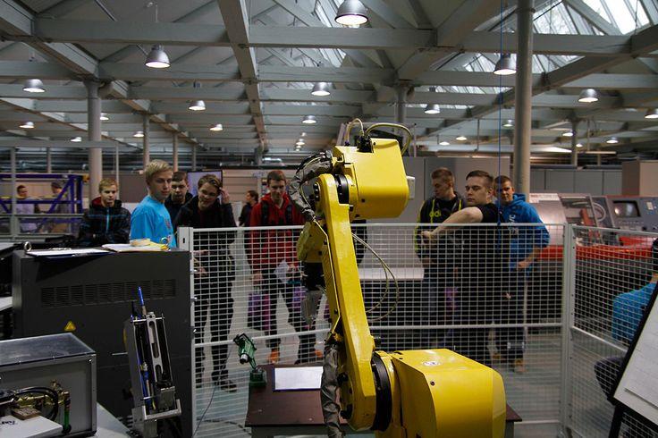 Mechanical Engineering Laboratory in Technobothnia, Vaasa. Photographer: Markku Kuusinen