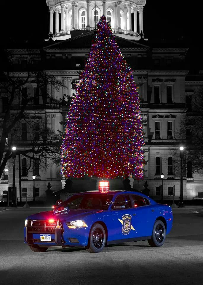 Merry Christmas from the Michigan State Police