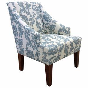 Ikat Straight Leg Accent Chair