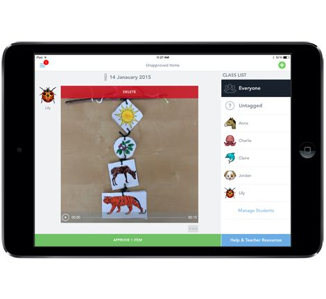 SeeSaw this app is a game changer for the PK3 classroom
