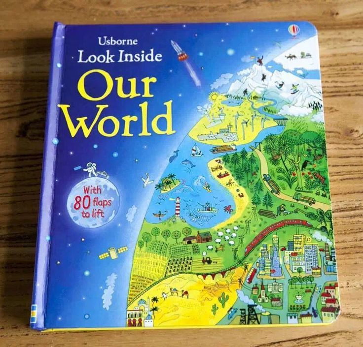 Look Inside Our World Book by Usborne:  Price: $22.99 & FREE Worldwide Shipping.  Visit us and see our 300+ catalog.  We sell toys, materials and costumes with a learning purpose.  Your kids will thank you later!