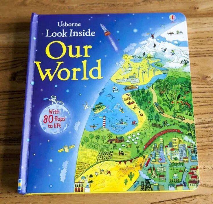 Английские детские книги Заглянуть внутрь оригинальный детские развивающие Картина Наш Мир с 80 клапанами поднять подарок для детей купить на AliExpress