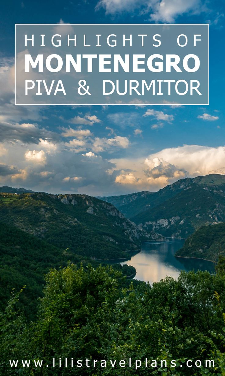 Highlights of northern Montenegro - Piva Canyon and Durmitor national park