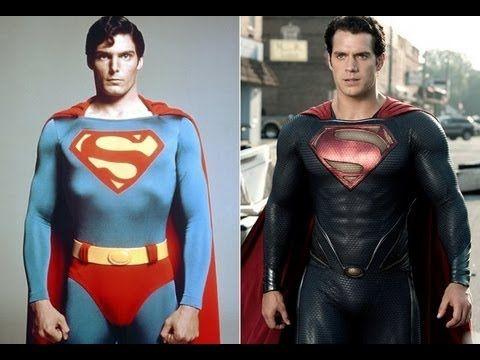 Superman 1978 vs Superman 2013 - YouTube