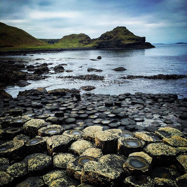 Giants Causeway, the home of the giant, Finn McCool. A beautiful part of Northern Ireland