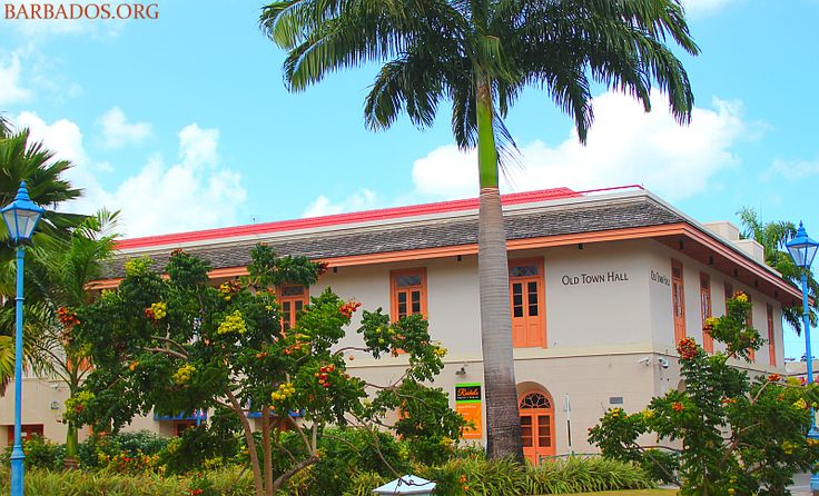 The Old Town Hall, located in the capital city of #Barbados