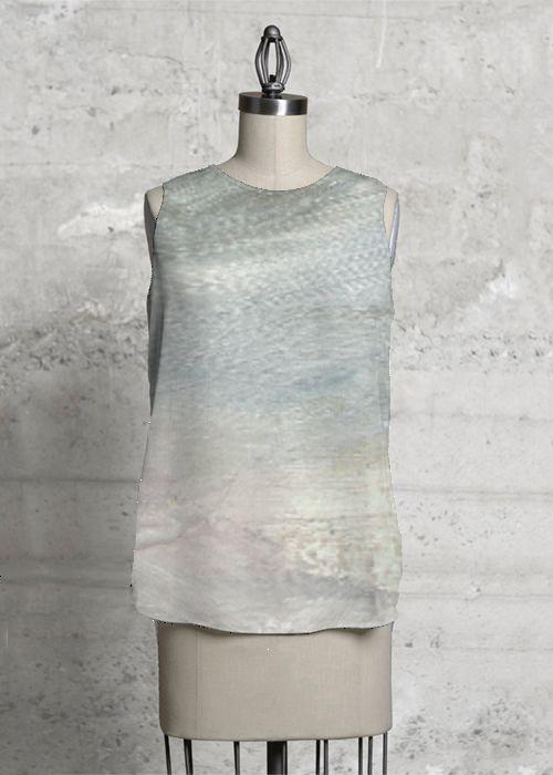"""Dreamscape"" sleeveless top.  Design: Siri Skogstad Berntsen   Find it here: http://www.shopvida.com/collections/voices/siri-skogstad-berntsen"