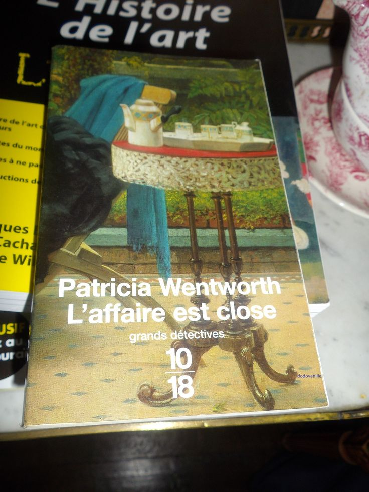 "Patricia Wentworth ""L'affaire est close"""