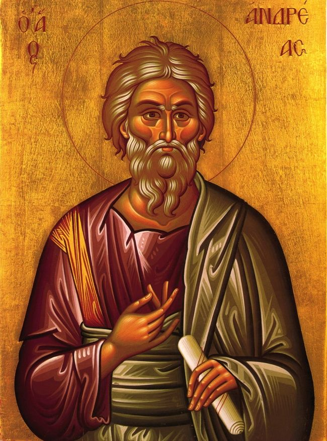 Картинки с апостолом андреем, родителям днем рождения