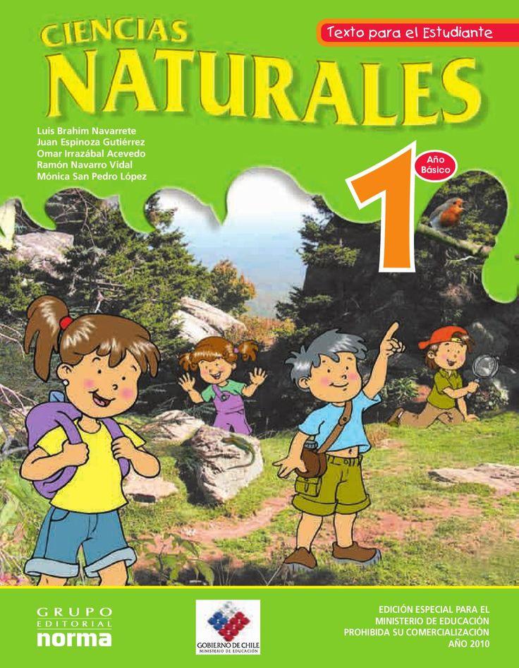 Naturales 1  Libro gratuito de Ciencias Naturales