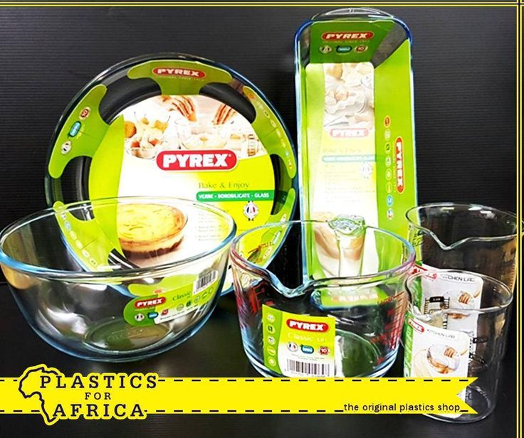 Take your cooking to the next level with our selected #Pyrex cookware, available from #PlasticsforAfrica. #cookware