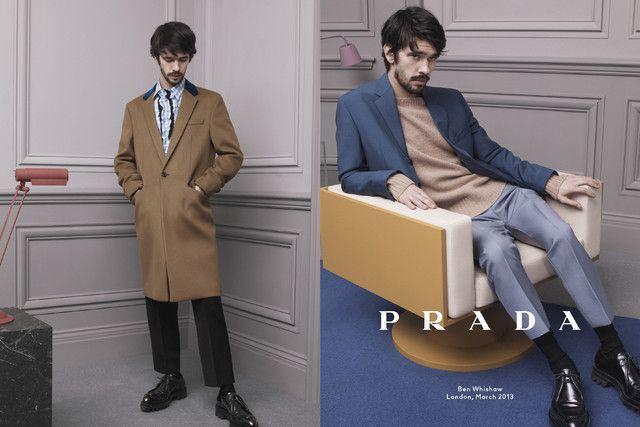 【画像】「プラダ」メンズ広告に3俳優を起用、レム・コールハースのOMAも参加 2/3 - Peachy - ライブドアニュース