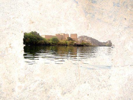 'Antiker Philae-Tempel der Göttin Isis' von Dirk h. Wendt bei artflakes.com als Poster oder Kunstdruck $18.03