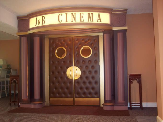 Home Theater   Doors And Marquee. Could Be Really Cute And Not Too Hard To  Make/have Made | Decor For Home Theater | Pinterest | Doors, Room And  Cinema Room