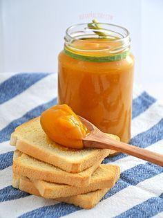 Mermelada de calabaza sin azúcares, un placer muy saludable :)