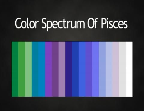 Color Pisces. Pisces has all the best ones.