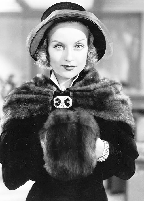 Carole Lombard    Some of my ancestors recounted that she was one of our distant relative! My mother does surname Lombard!!