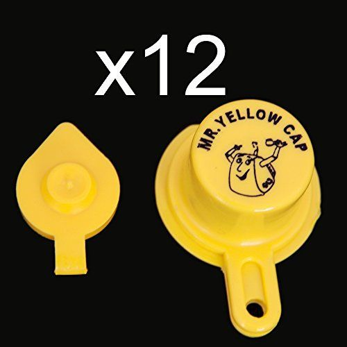 • Keeps dirt/debris out of your gas cans! Keeps your carburetors clean! • No more gas fumes in your car after filling the gas cans at the station! • Made in the USA – Fall Branch, TN out of Polypropylene Plastic • Vintage to new, we have the cap for you! • Never lose your Yellow Cap again! ... more details available at https://perfect-gifts.bestselleroutlets.com/gifts-for-holidays/automotive-parts-accessories/product-review-for-yellow-gas-can-cap-that-fits-you