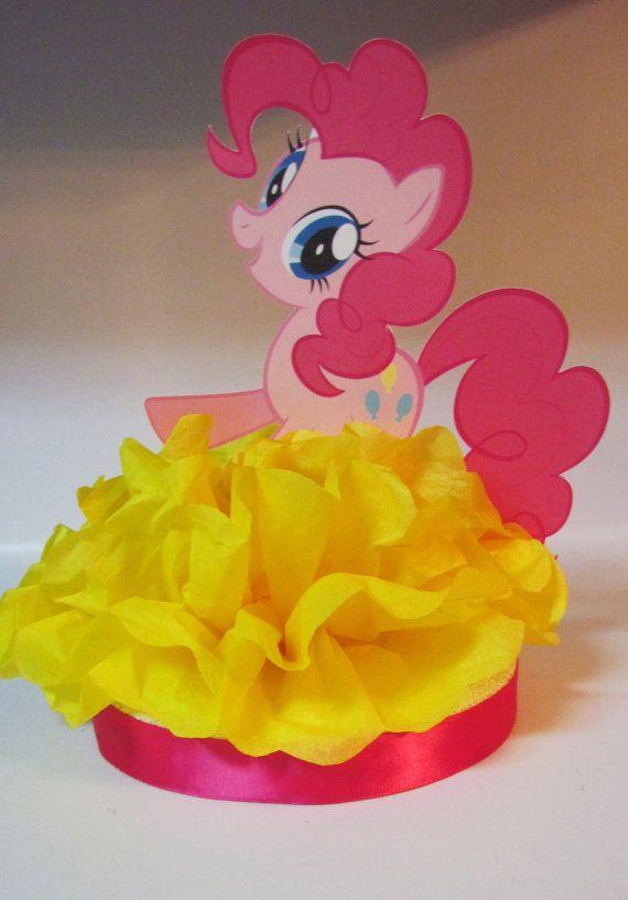 My Little Pony Birthday Party Baby Shower Centerpiece on Etsy, $10.00