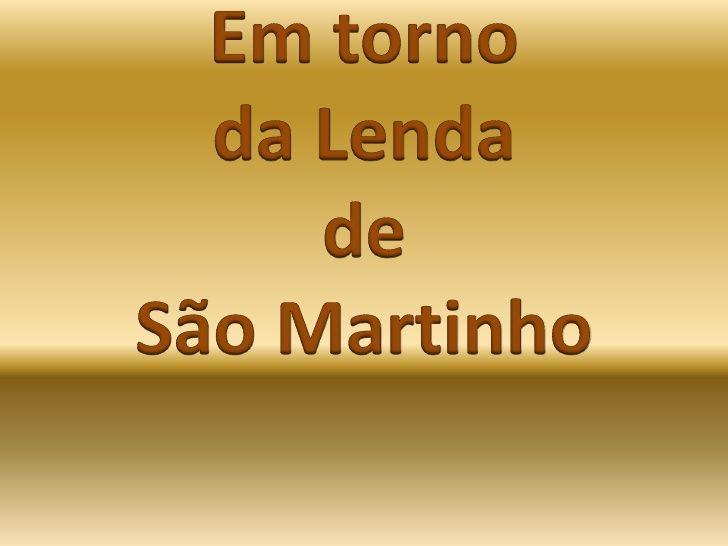 Actividades de S. Martinho.