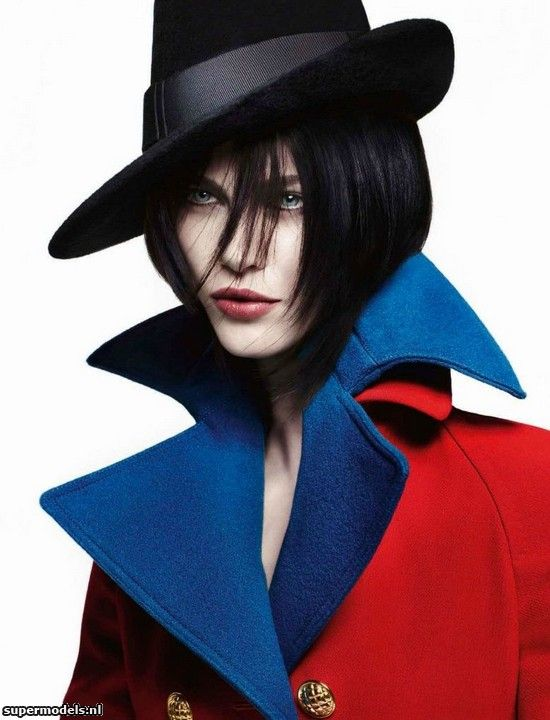 Aymeline Valade in 'Grand Chic' - Photographed by Solve Sundsbo (Vogue Italia July 2012)    Complete shoot after the click...