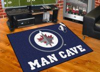 Winnipeg Jets All Star Man Cave Mat Floor Mat. $34.99 Only
