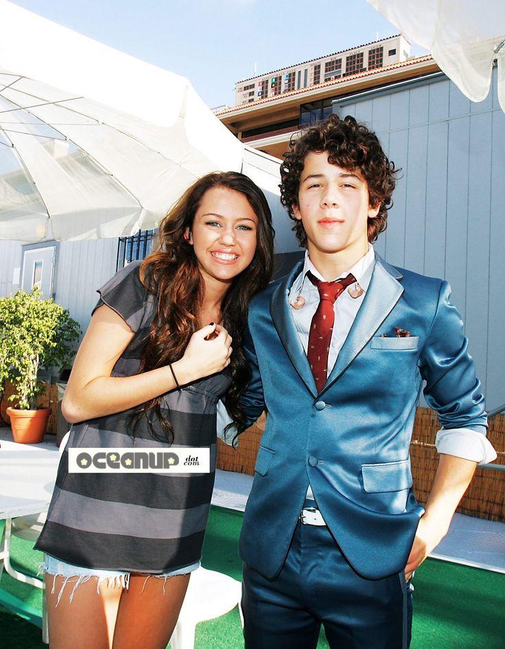 Nick Jonas y Miley Cyrus
