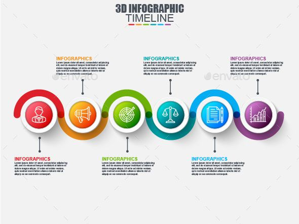Business Timeline infographics #workflow #flow  • Download here → https://graphicriver.net/item/business-timeline-infographics/20643821?ref=pxcr