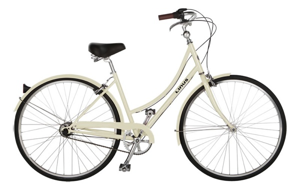 Dutchi 3 by linusbike.com, superbicycle.com: This is your classic Dutch bike, a sweeping curved frame and refined upright posture make it the elegant choice for trips to the market or just riding down the boulevard.  The Dutch make the best bikes.