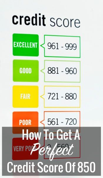 You already know how important credit scores are. A good score can save you hundreds if not thousands of dollars.If you want to raise your credit score, why not aim for the stars and try and get a perfect score of 850? Credit scores take time and patience to build, which is why it is imperative to set a concrete… Credit Scores, #CreditScores