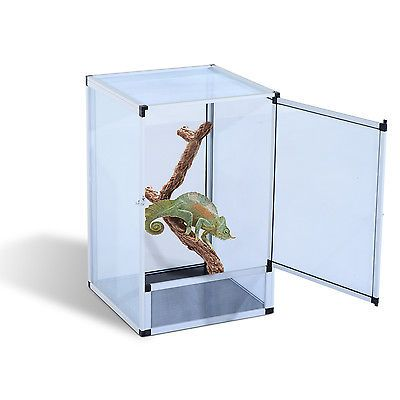 how to build a screen reptile cage