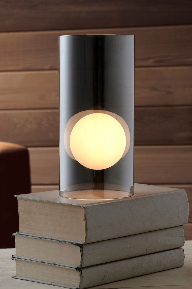 Next Orb Glass Touch Table Lamp Black Touch Table Lamps Lamp Orb Light