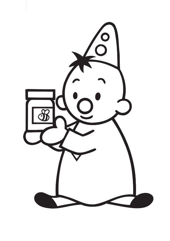 Quatang Gallery- Kleurplaat Bumba Gaat Ontbijten En Pakt Een Pot Honing Voor Op Zijn Boterham Character Snoopy Charlie Brown