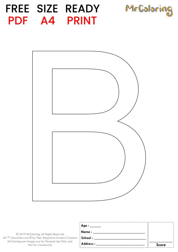 Alphabet Letter B Coloring Pages Uppercase Or Capital Flat For Kids Alphabet Lette In 2020 Lettering Alphabet Free Printable Alphabet Letters Letter B Coloring Pages