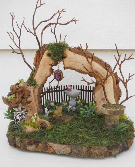 Woodland Garden Fairy Display
