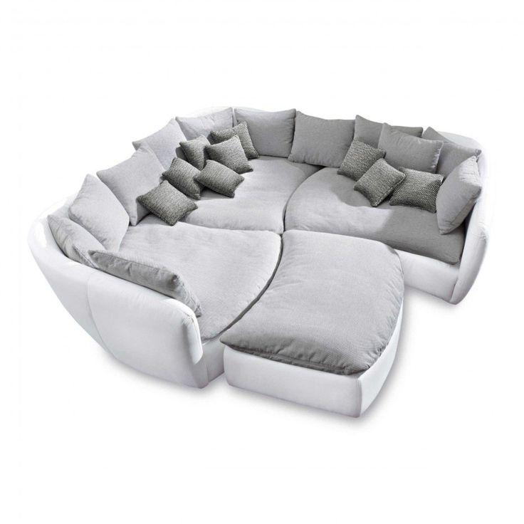 wohnlandschaft tunis grau stoff g nstig bei home etc m bel wohnen wohnzimmer. Black Bedroom Furniture Sets. Home Design Ideas