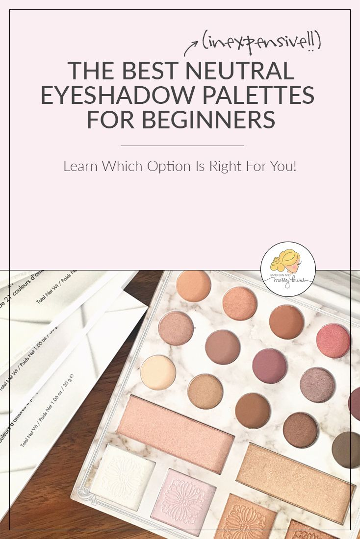 The Best Neutral Eyeshadow Palettes for Beginners