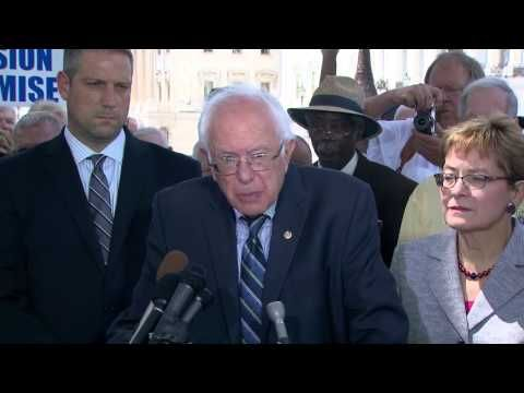 Video of Sanders' Statement on the Charleston Church Killings. REAL LEADERSHIP ! From a leadership perspective Bernie Sanders communicates and exists by living in balance with his fellow citizens and with his higher self using his influence to improve life on the planet. He has the knowledge and wisdom and the feelings of a holistic approach to life.