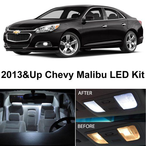 Chevy Malibu 2013 & Up Xenon White Premium LED Interior Lights Package Kit (5 Pieces) LEDpartsNow http://www.amazon.com/dp/B00I1ASD0U/ref=cm_sw_r_pi_dp_wVykub1WE706W