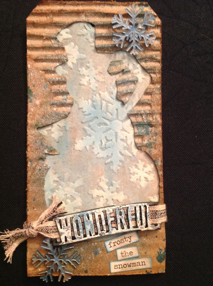 The Journey Awakens the Soul...: 12 Tags of 2014-November Tim Holtz