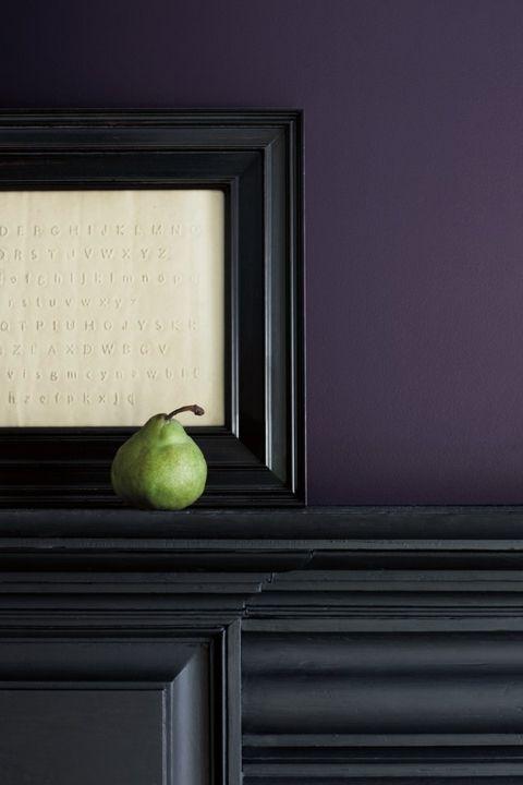2017 Design Trends: Rich, Dark Jewel Tones -- 2017 Benjamin Moore Color of the Year is Shadow.