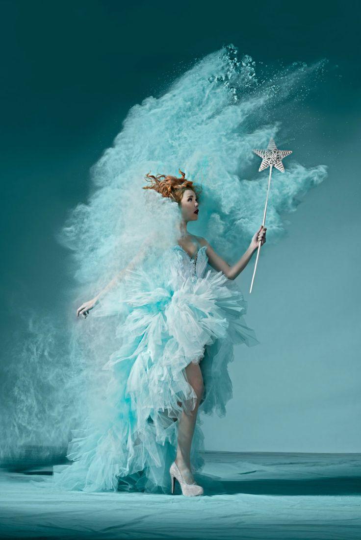 oliver oettli powder photography model fashion turquoise