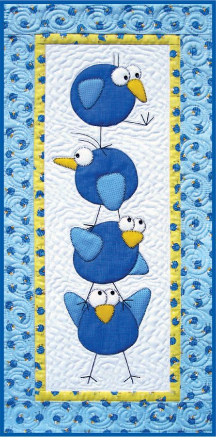 Amy Bradley Designs: Meet The Tweets Pattern and Fabric Give-a-way!