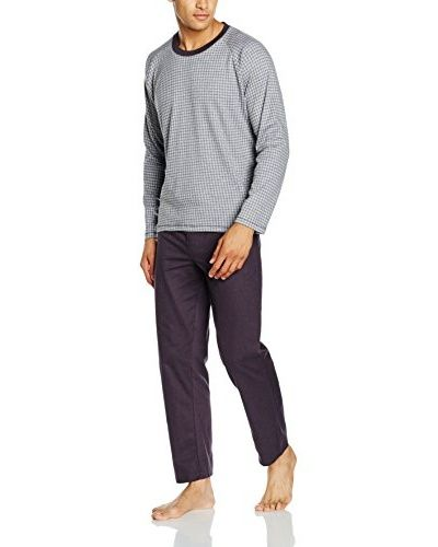 COTONELLA Pyjama [grau meliert/anthrazit]