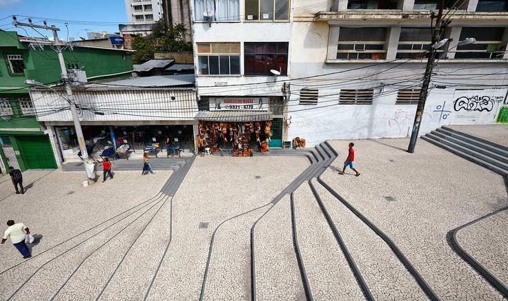 Ladeira_da_Barroquinha-Urban-Staircase-Brazil-Metro_Arquitectos-02 « Landscape Architecture Works | Landezine
